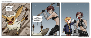 FFXIV Comic: Insults to Injury by bchart