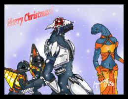 Halo: Merry Christmas by Savage-Mojo