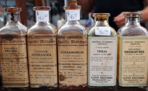 Apothecary bottles by SparksMcGhee