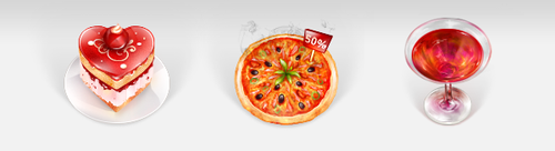 Nearby Grocery icons I by blackblurrr