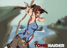 Tomb raider by Holicdraw34