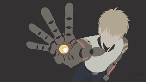 One Punch Man - Genos by Krukmeister
