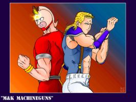 M + K Machineguns by Rhandi-Mask