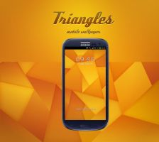 Triangles Wallpaper by Martz90