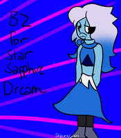 .:B2 Gem Custom for StarSapphireDream:. by SleepyStaceyArt