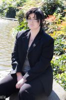 Claude Faustus (Behind the Scenes vers.) by MFM-Photography
