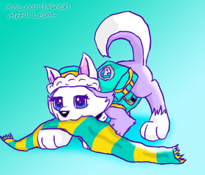 Everest Has Brought You a Scarf by MsLunarUmbreon