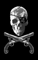 Jolly Roger Pistols by capdevil13