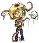 chibi fail smoker Roe infected by roseannepage