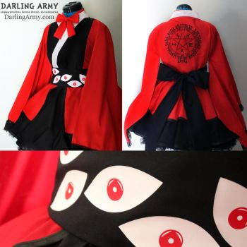 Alucard Hellsing Cosplay Kimono Dress Commission by DarlingArmy