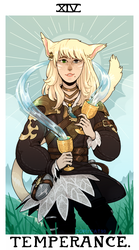 tarot comm - temperance by corycatte