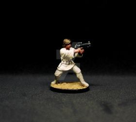 Luke Skywalker ( ANH ) from Imperial Assault by frostbumblebee