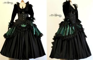 Dress costume custom order by myoppa-creation
