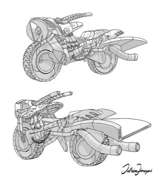 concept motorcycle by toonimated