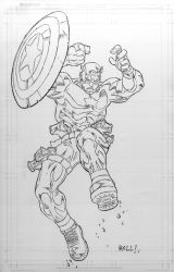 Captain America by bobbett