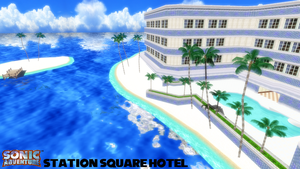 (MMD Stage) Station Square Hotel Download by SAB64