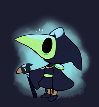 Little Plague Knight by HappyCrumble