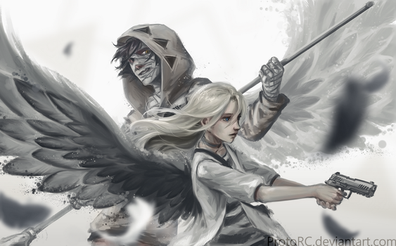 [Angels of death] Till the end by ProtoRC