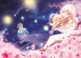 Your Lie in April - Kousei's Image by TrulyTuyet