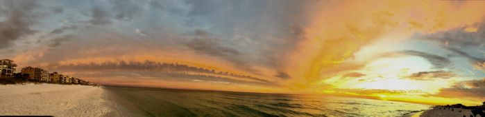 Panoramic Sunset of Fury by superSeether