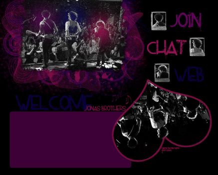 Guild Layout Jonas Brothers by ciitylightss
