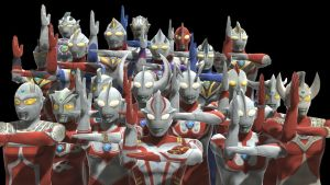Ultraman Pack MMD Models +DL Link by ASousaPro