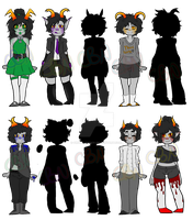 [OPEN] Theme Adopts! [PAYPAL/POINTS] by qrave-digger
