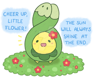 A little positive Budew by Hime--Nyan