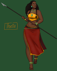 Theia by haodan