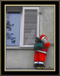 Santa at the Window by angelfire226