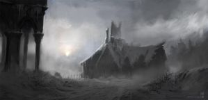 The Lost Tower Inn by TyphonArt