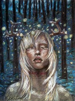 Fireflies by DominicaPresently