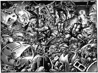 TMNT by Eastman and Laird- Mousers by FringerFrankie