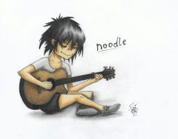 Noodle uwu by SpookyDudeOWO