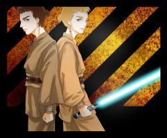 Jedi Padawans by drifting-willow