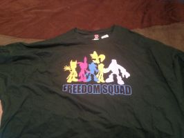 Freedom Squad T-shirt by dth1971