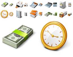 Free Business Desktop Icons by Ikont