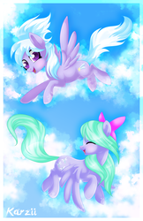 Flitter and Cloud Chaser by karzii