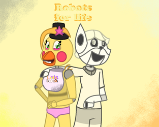 Robots For life (for AndreaAfton) A gift by TeddyTaw