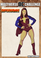 Superhawke card by hulkdaddyg