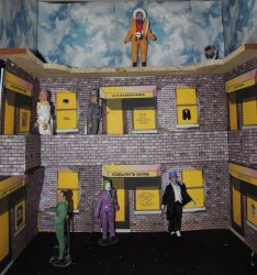 WIP Mego Gotham City for Batman 66 by monitor-earthprime