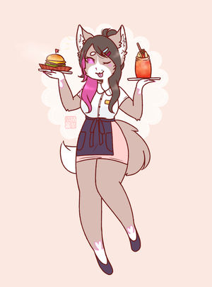 $foxinacup [1/2] by Loliitea
