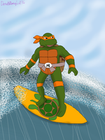Cowabunga! by Donatellosgirl36