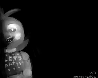 TOY CHICA PRACTICE by hsholic
