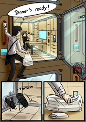 Station Engineer - Dinner for Two - pg. 8 by Sareth1337