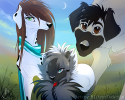 The Trio by MittensTheNoble