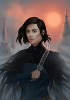 Vin - Mistborn by gravity-zero