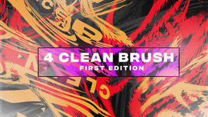 Large Size 1920x1080 Liquify Clean Brush by DeathToTotoro