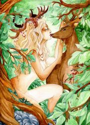 - The Deer and the  Doe - by ooneithoo