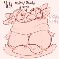Couple Ych Paypal/Points (FlatPrice)+2 extra slots by iN3LL3H